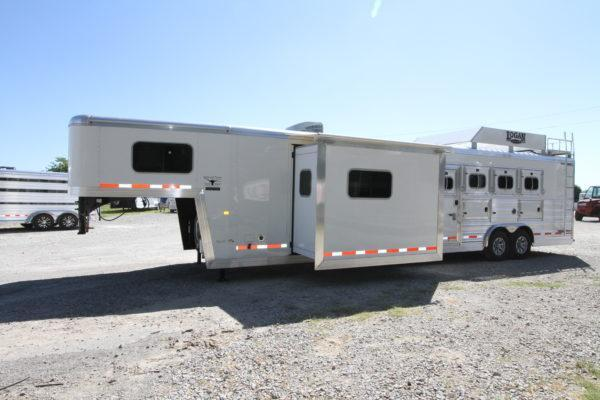 2019 Logan Coach Limited 4H 14' SW Horse Trailer w/Slideout