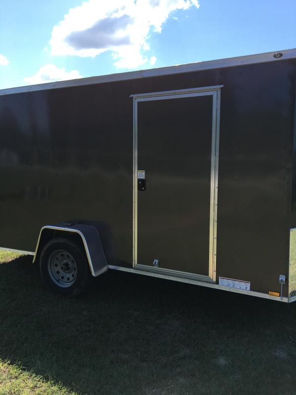 6X12 Single Axle Enclosed Cargo Trailer CG  in Nashville, GA