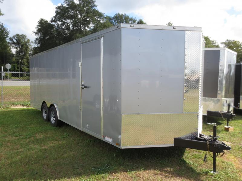 8.5x22 Tandem Axle Enclosed Cargo Trailer w/barlock in Nashville, GA