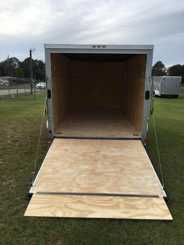 7x14 Tandem Axle Enclosed Cargo Trailer