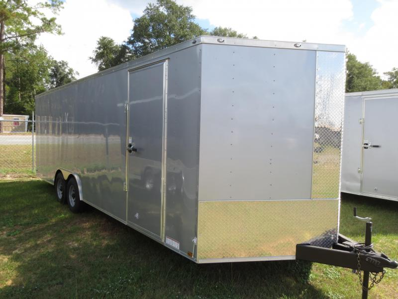 8.5x24 Tandem Axle Enclosed Cargo Trailer in Ellenton, GA