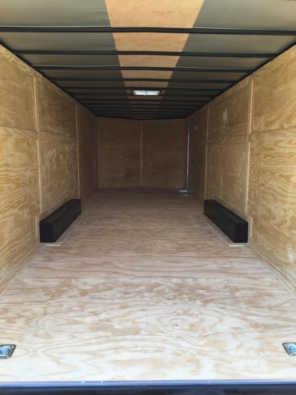 8.5X26 Tandem Axle Enclosed Cargo Trailer