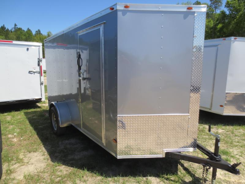 6X12 Single Axle Enclosed Cargo Trailer  in Barwick, GA