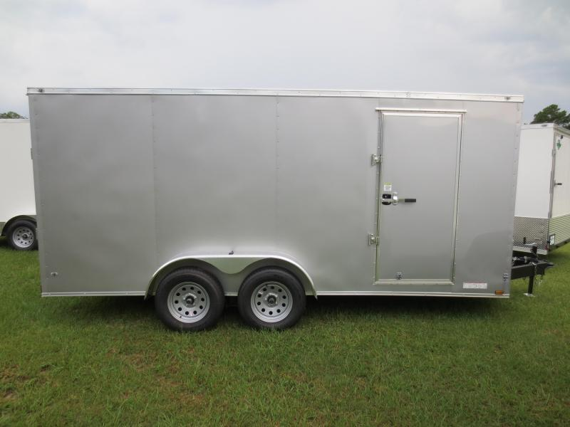 7x16 Tandem Axle Enclosed Cargo Trlr