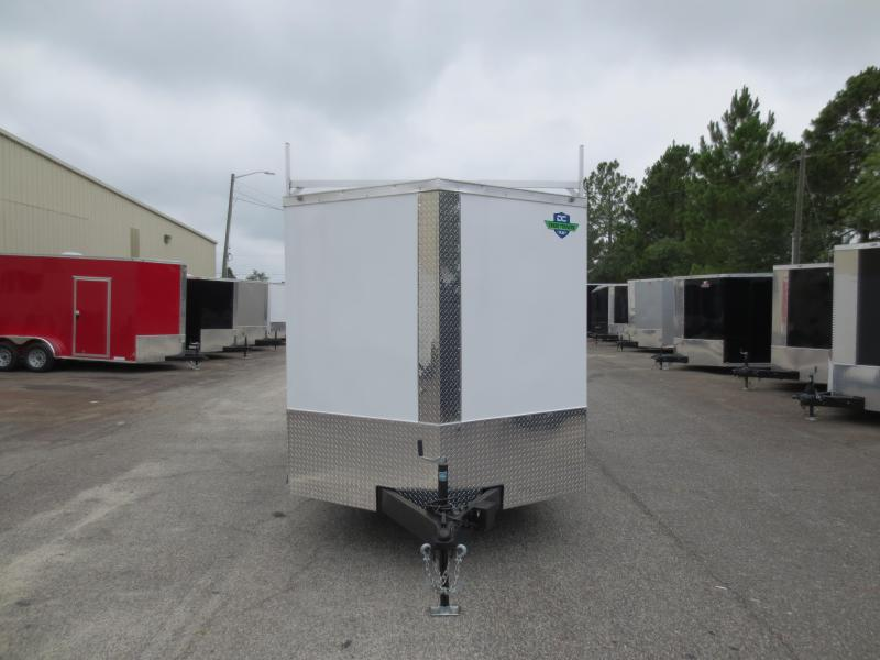 7x16 Tandem Axle Enclosed Cargo Trailer