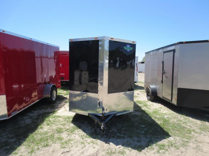 6X12 Single Axle Enclosed Cargo Trailer  in Nashville, GA