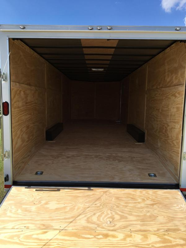 8.5X28 Tandem Axle Enclosed Cargo Trailer