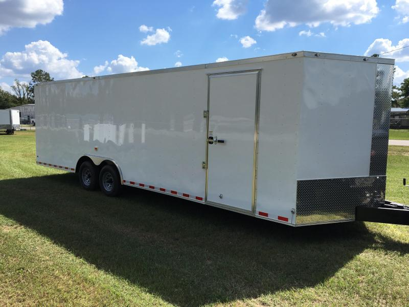 8.5X28 Tandem Axle Enclosed Cargo Trailer  in Nashville, GA