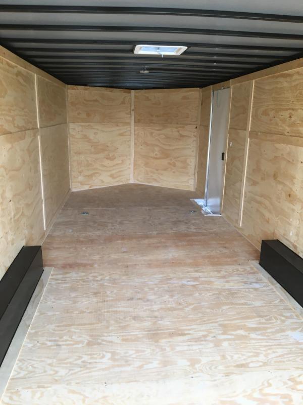 2019 8.5X24 Tandem Axle Enclosed Cargo Trailer