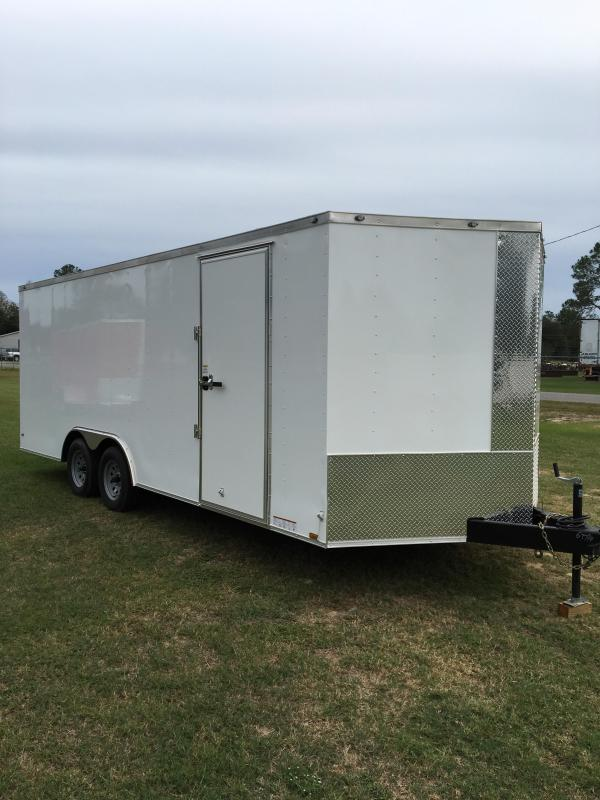 8.5x20 Tandem Axle Enclosed Cargo Trailer  in Nashville, GA