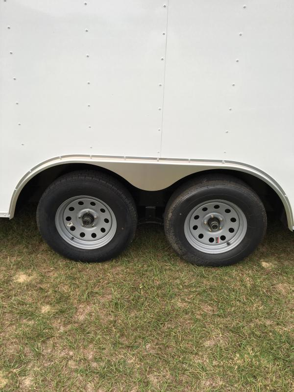 8.5x20 Tandem Axle Enclosed Cargo Trailer
