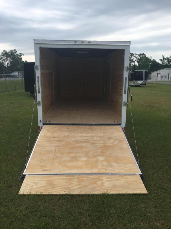 2019 7X16 Tandem Axle Enclosed Cargo Trailer