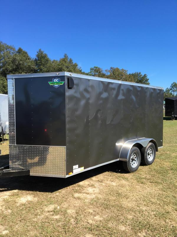 7x14 TA Enclosed Cargo Trailer in Ashburn, VA