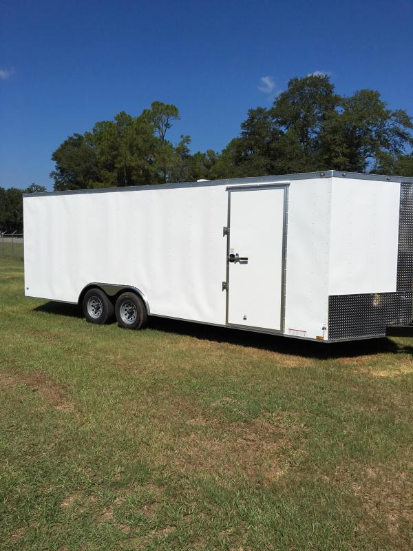 8.5X22 Tandem Axle Enclosed Cargo Trailer  in Barwick, GA