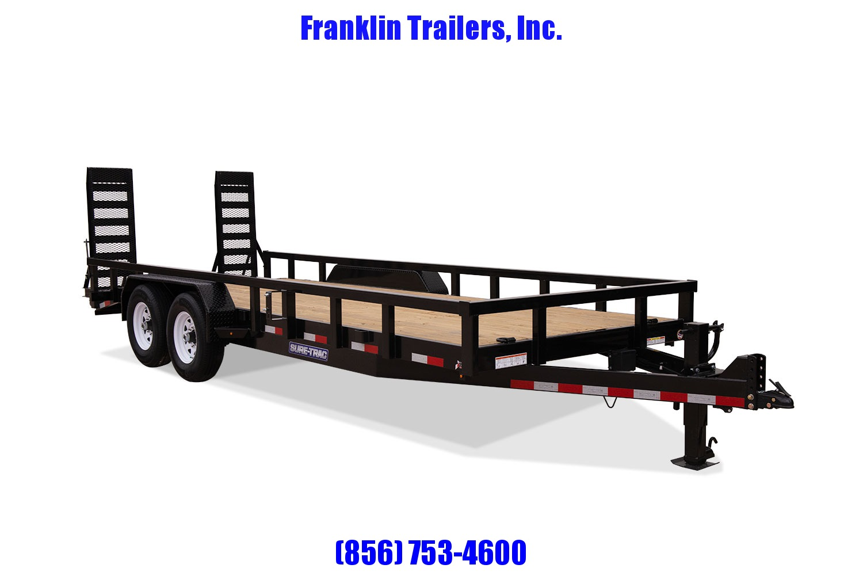 2019 Sure-Trac 7 x 18 14K Heavy Duty Equipment Trailer 2020717