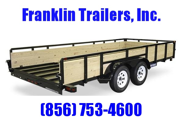 2020 Sure-Trac 7 X 14 TA 3-Board High Side Tube Top Utility Trailer 2020814