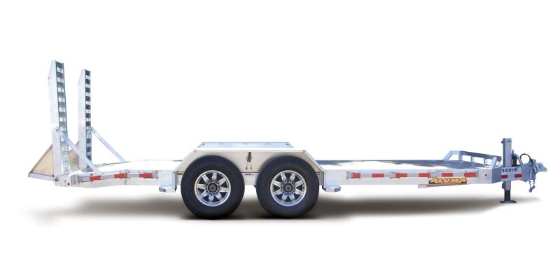 2018 Aluma 8218-14K Aluminum Equipment Trailer with Spare mounted 2018104