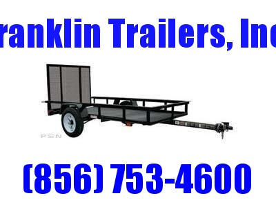 2019 Carry-On 4X8 - 2000 lbs. GVWR Mesh Floor Utility Trailer 2020136