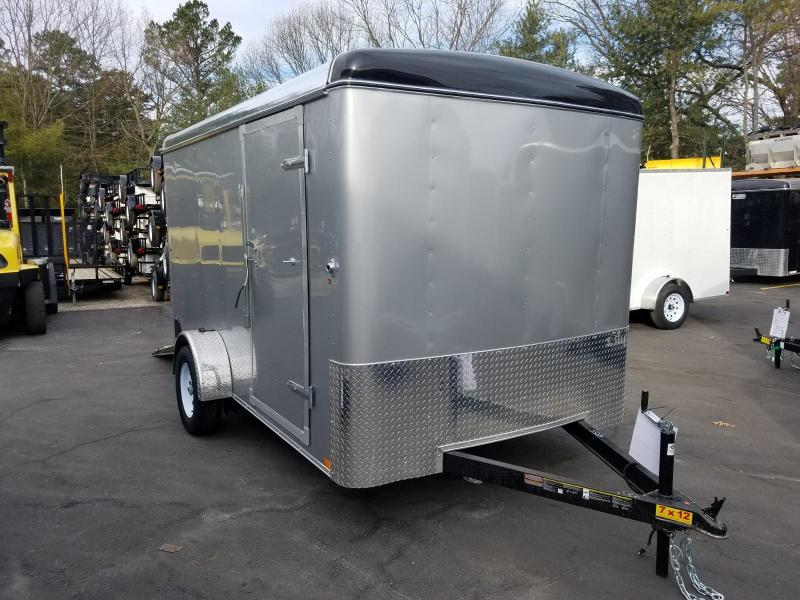 2019 Carry-On 7X12 Enclosed Cargo Trailer 2020048