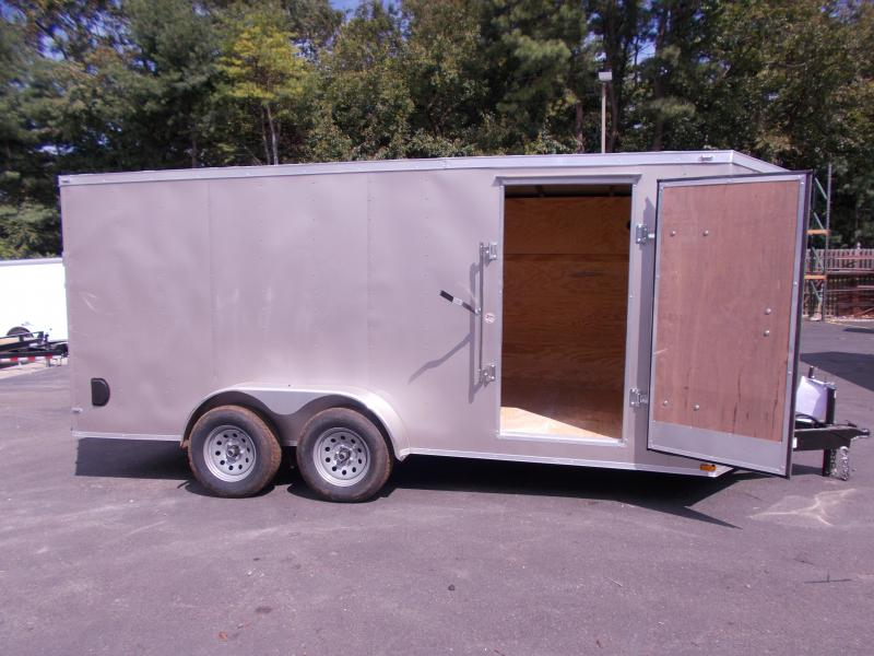 2020 Lark 7X16 Enclosed Cargo Trailer 2021023