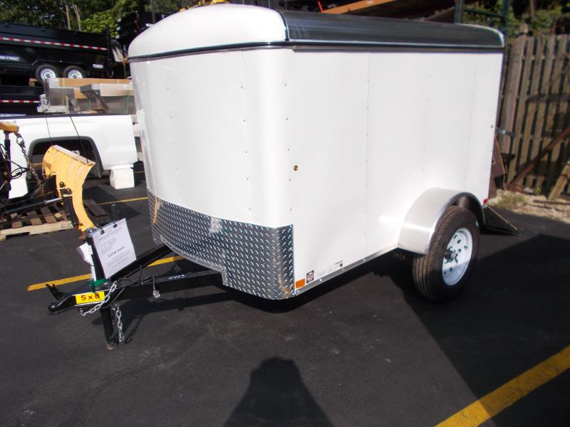 2019 Carry-On 5x8 Enclosed Cargo Trailer with Ramp Rear Door 2019546