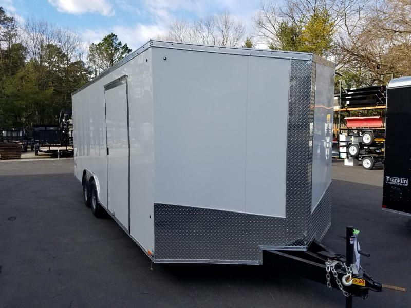 2019 Cargo Express 8.5X24 V-Nose Car / Racing Trailer 2019875 in Cleveland, NS