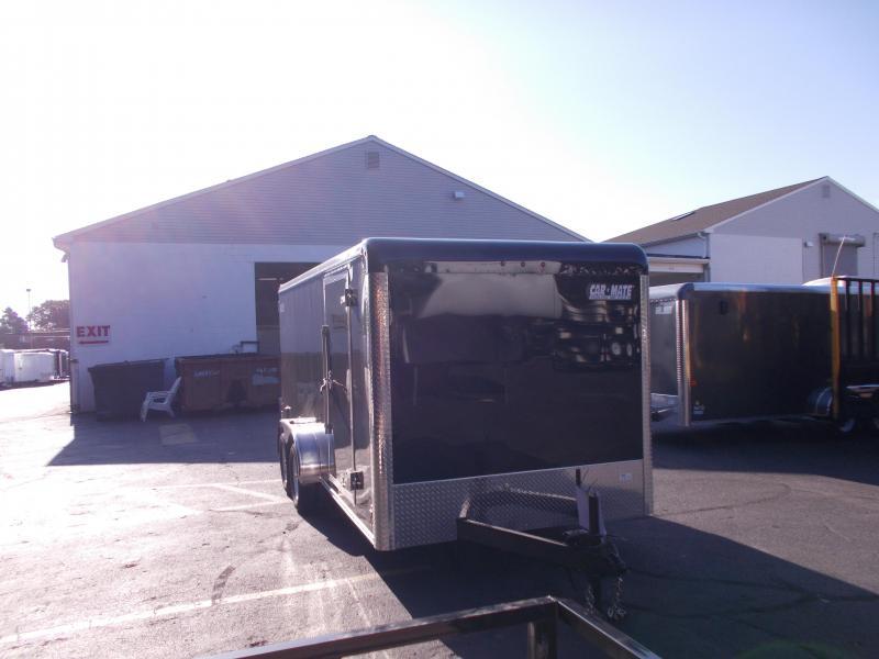 2019 Car Mate Trailers 7x16 - 7'W Tandem Axle Enclosed Cargo Trailer 2020930
