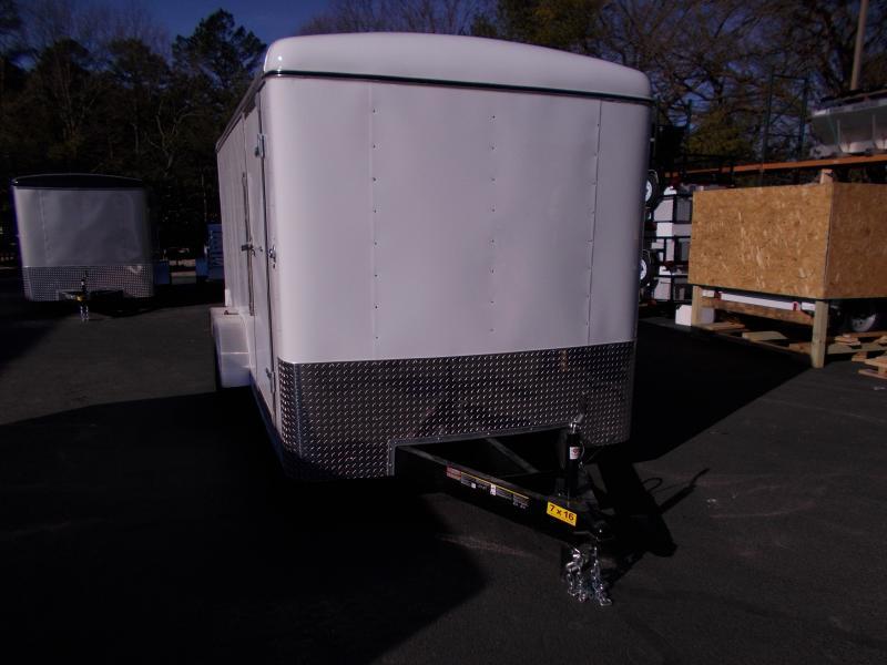 2019 Carry-On 7X16 Enclosed Cargo Trailer 2019878 in Ashburn, VA
