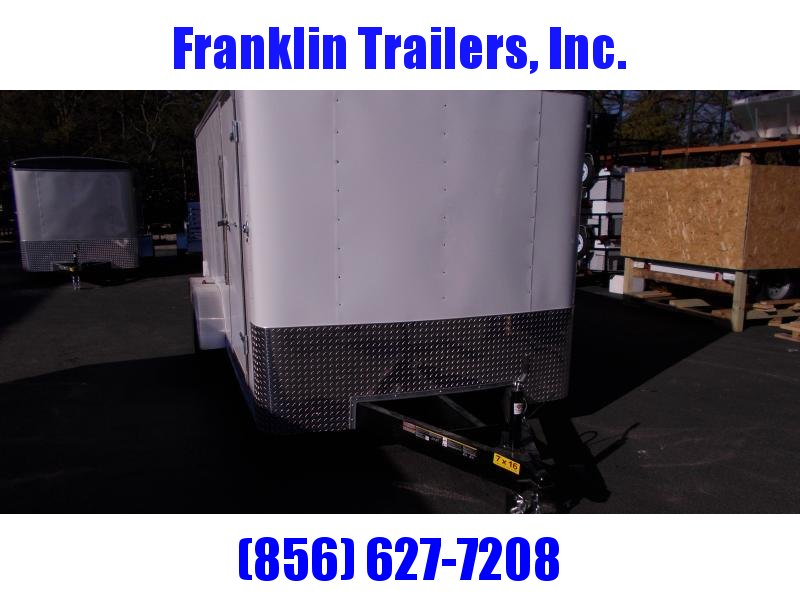 2019 Carry-On 7X16 Enclosed Cargo Trailer 2019878