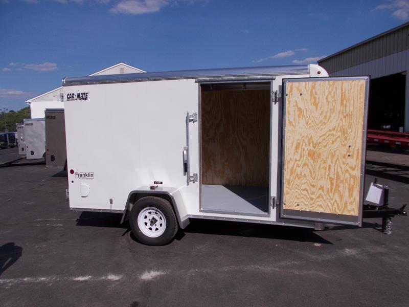 2020 Car Mate Trailers 6x12 Enclosed Cargo Trailer 2020796