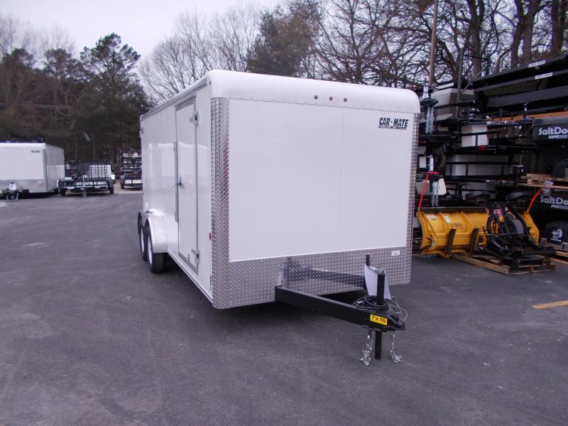 2019 Car Mate Trailers 7x16 Enclosed Cargo Trailer 2020068