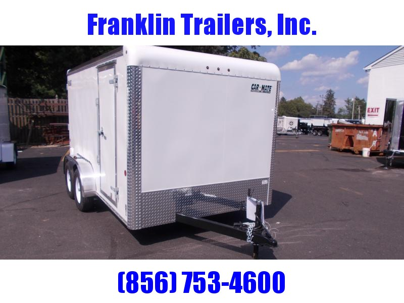 2019 Car Mate 7x12 Enclosed Cargo Trailer 2020964
