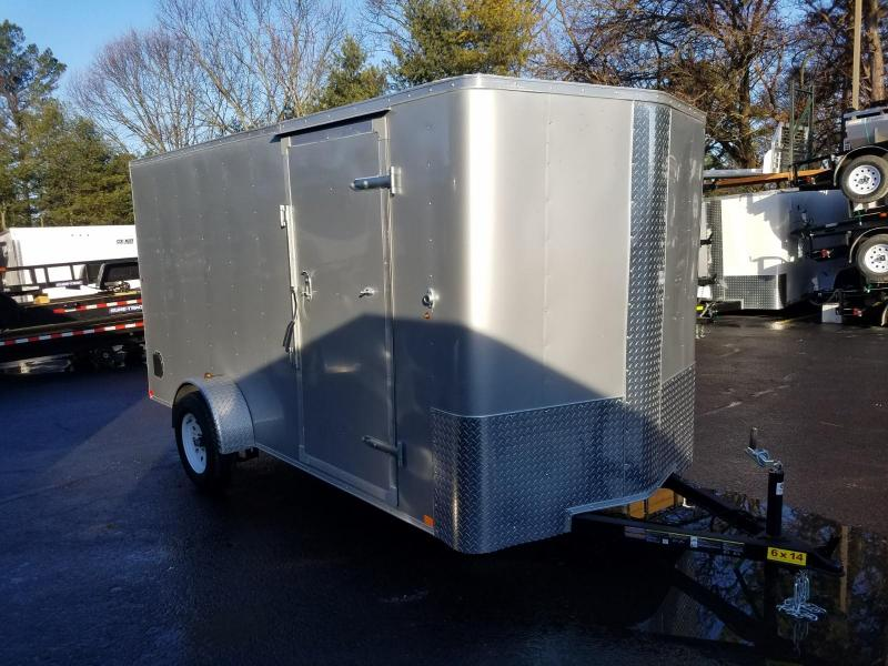 2019 Carry-On 6X14 V-Nose Enclosed Cargo Trailer 2020103
