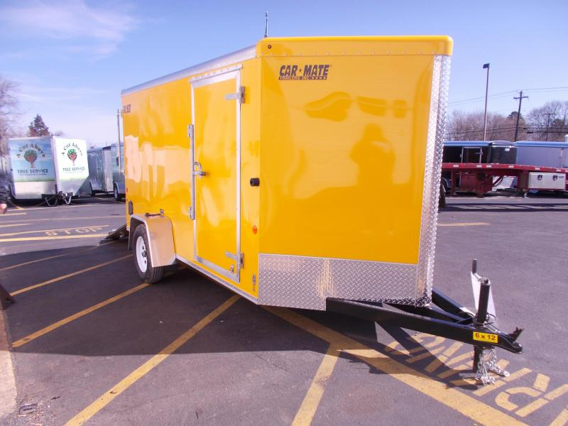 2019 Car Mate Trailers 6x12 V-Nose Advantage Enclosed Cargo Trailer 2020425
