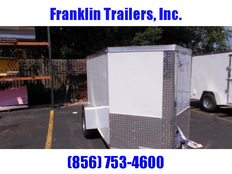 2019 Lark 5x8 Enclosed Cargo Trailer 2020944