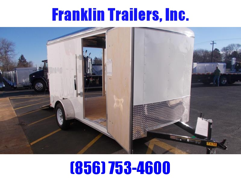 2019 Carry-On 7X12 Enclosed Cargo Trailer 2020329