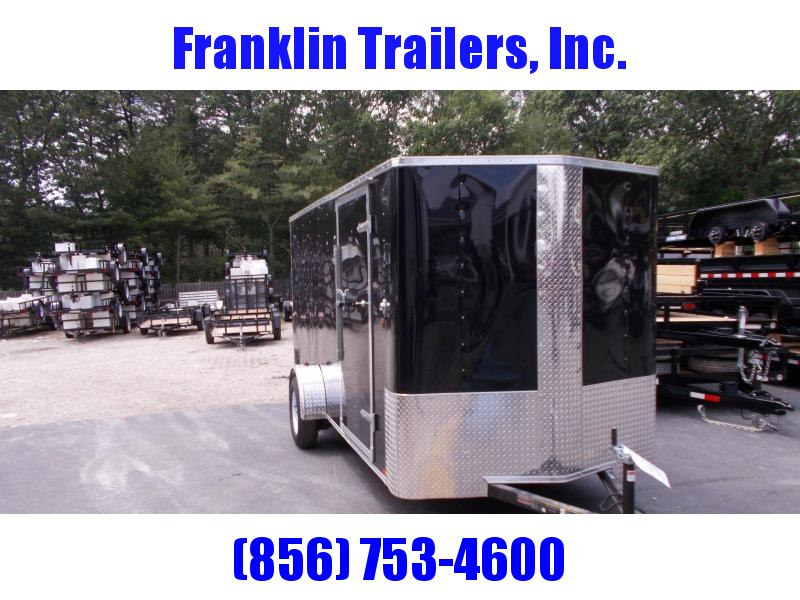2019 Carry-On 6X14 Bull Nose Enclosed Cargo Trailer 2020737