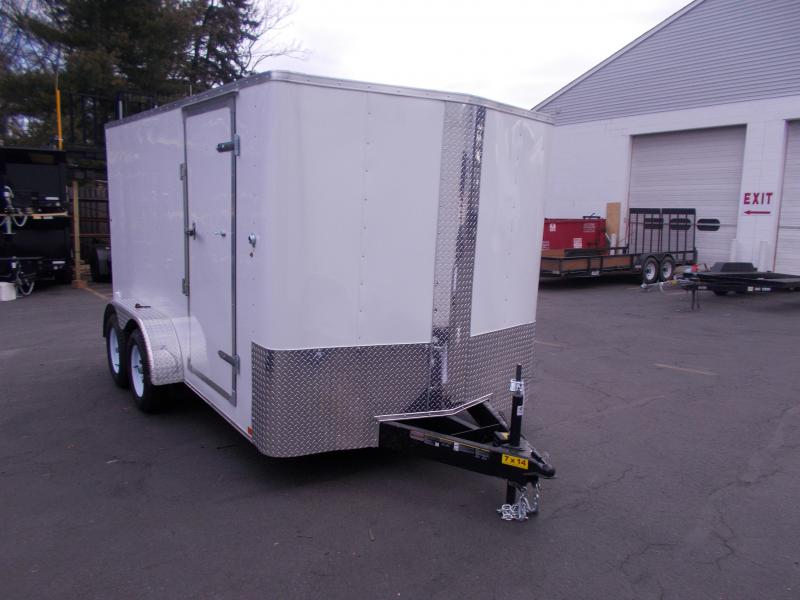 2019 Carry-On 7X14 V-Nose Enclosed Cargo Trailer 2020349