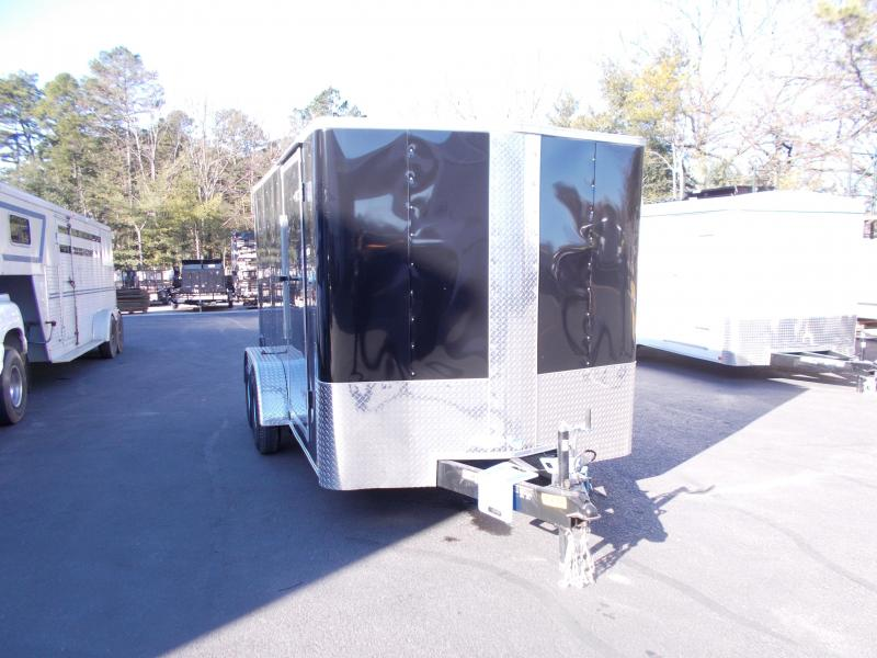 2019 Carry-On 7X14 V-Nose Enclosed Cargo Trailer 2019876