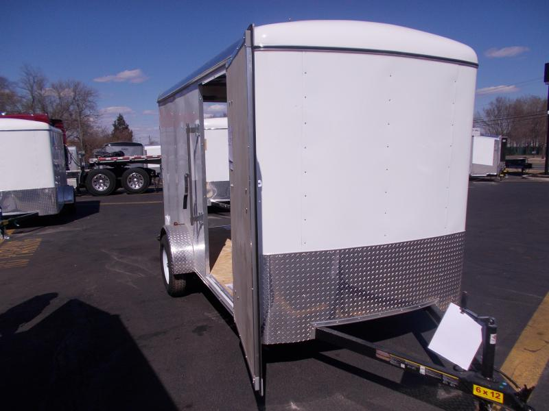 2019 Carry-On 6X12 Enclosed Cargo Trailer 2020378