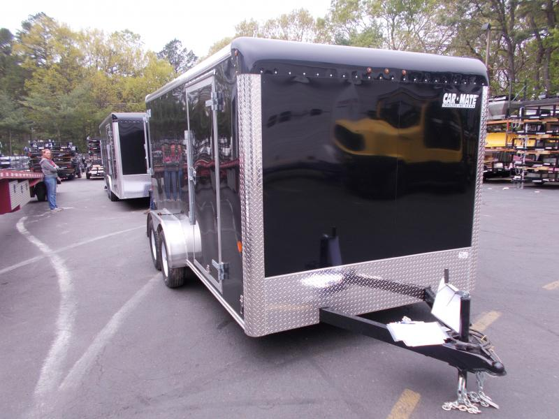 2019 Car Mate Trailers CM714CC-HD - 7W Tandem Axle Custom Cargo Trailer Enclosed Cargo Trailer