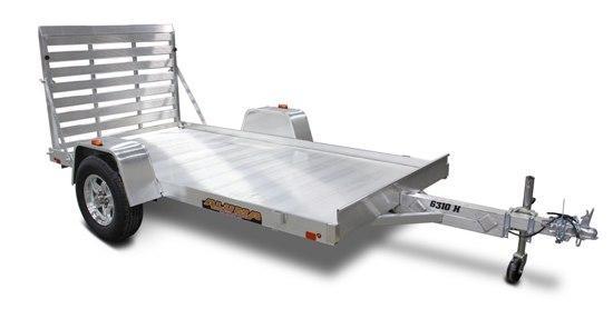 2020 Aluma 63x10H Aluminum Utility Trailer 2020222