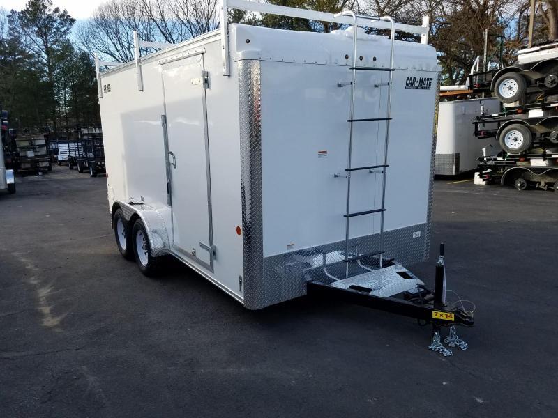 2019 Car Mate Trailers 7x14 Contractor Enclosed Cargo Trailer 2020059