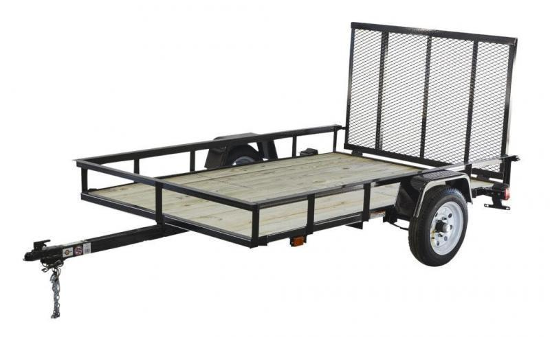 2018 Carry-On 5X8 - 2000 lbs. GVWR Wood Floor Utility Trailer ...