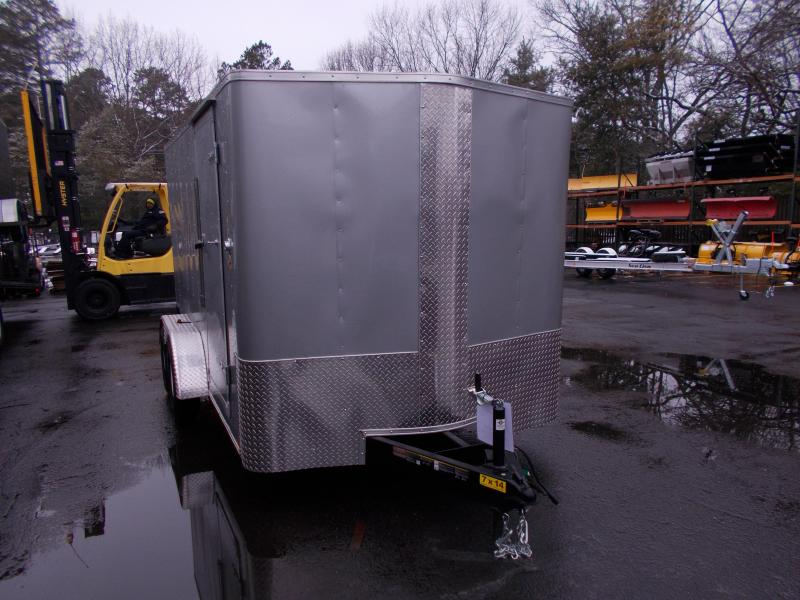 2019 Carry-On 7X14 V-Nose Enclosed Cargo Trailer 2019931