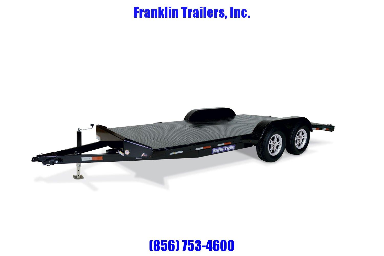 2020 Sure-Trac 7 x 18 Steel Deck Car Hauler  10k 2021036