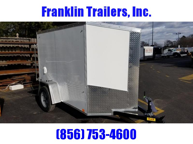 2019 Cargo Express 5X8 V-Nose Enclosed Cargo Trailer 2019873