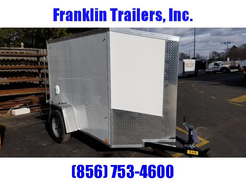 2019 Cargo Express 5X8 V-Nose Enclosed Cargo Trailer 2019873