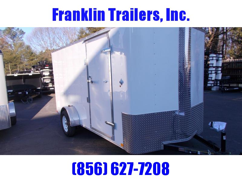 2019 Carry-On 6X14 Bull Nose Enclosed Cargo Trailer 2020192