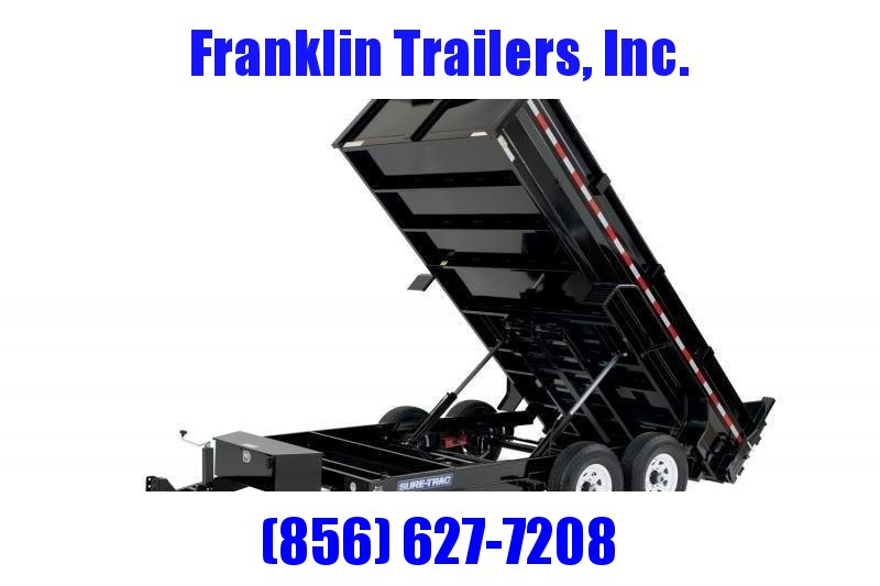 2020 Sure-Trac 82x12 12K HD Low Profile Dump (Dual Ram) Dump Trailer 2020845